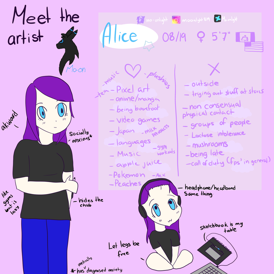 #MeetTheArtist by Mo-onlight