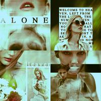 Alone in heaven by Core-BloodDrinker