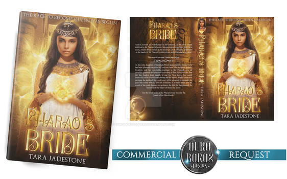 BOOKCOVER (commercial request) - Pharaoh's Bride