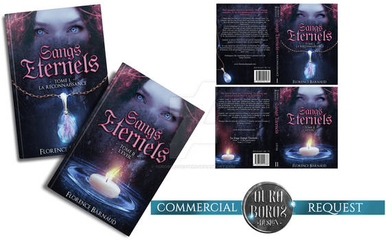 BOOKCOVERS (commercial request) - Sangs Eternels