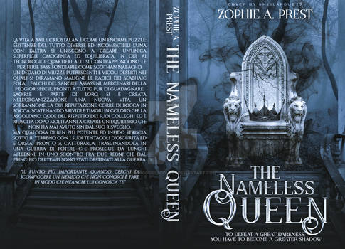 The Nameless Queen - Wattpad Cover