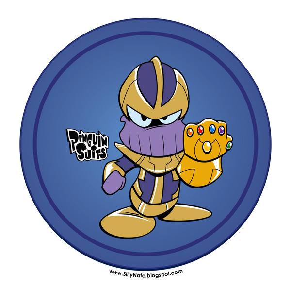Penguin Suits - Thanos by SillyNate
