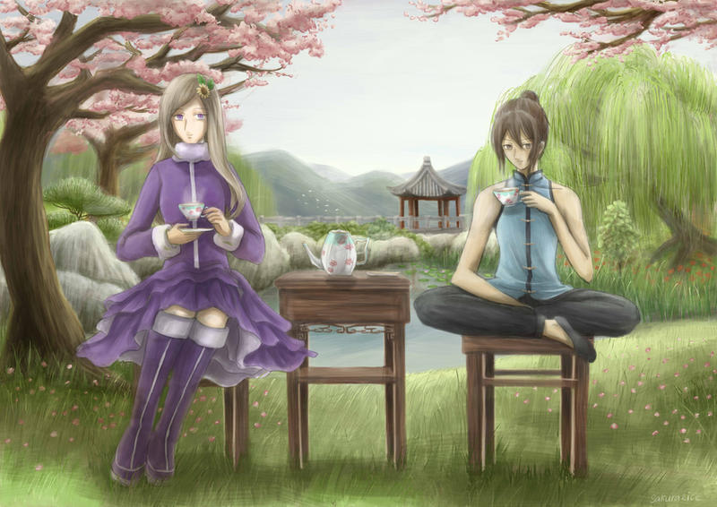 APH - Tea Time by sakura2ice