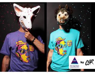 T-Shirt design Burkina 02 by NARIZdePAYASO