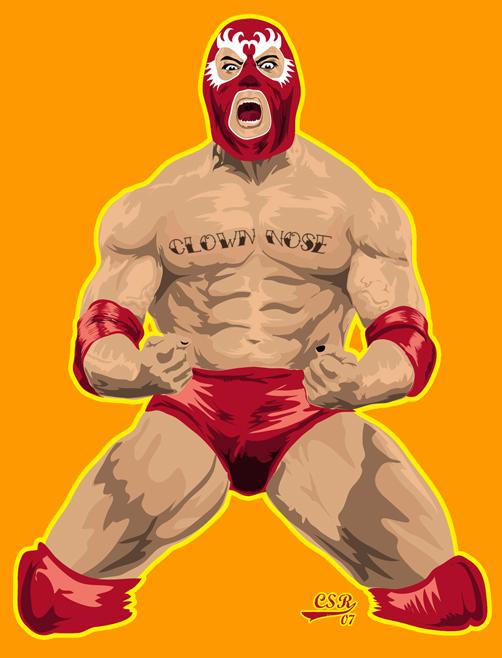 Lucha Libre Wrestler by NARIZdePAYASO on DeviantArt