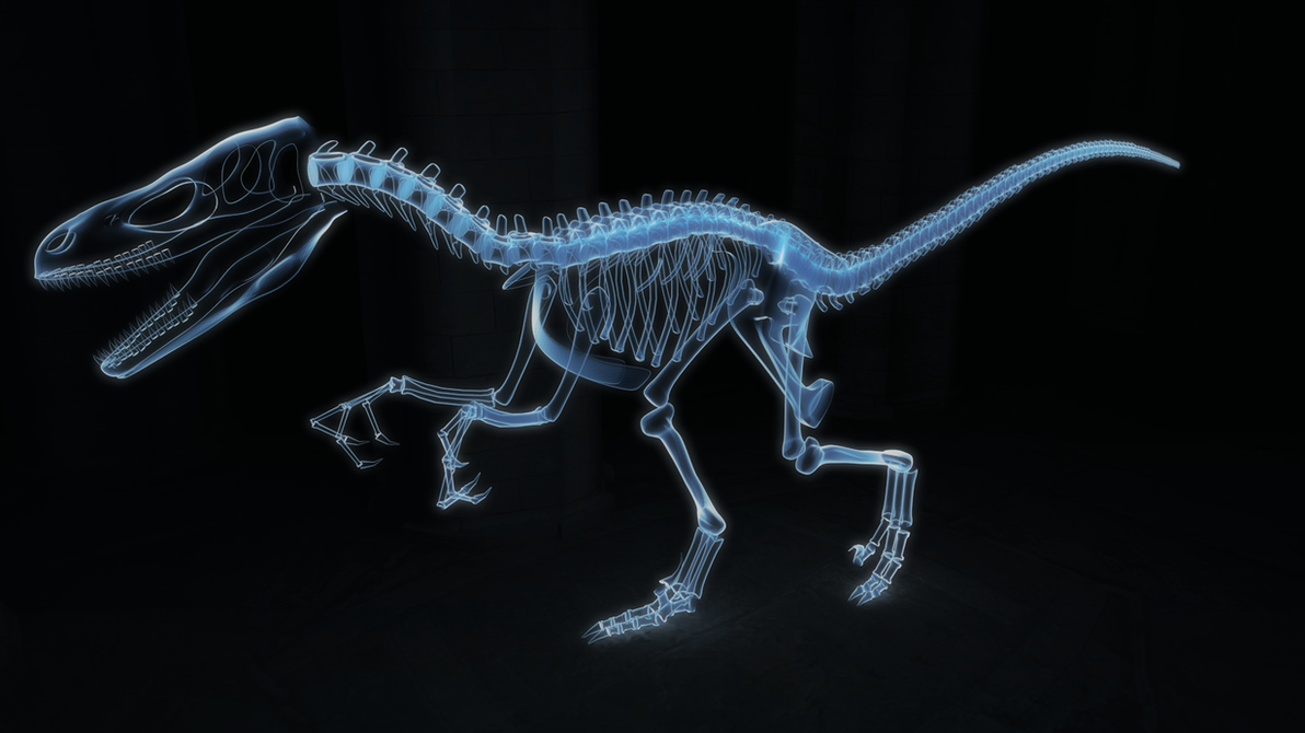 Ghost Raptor by SylxeriaGuardian on DeviantArt