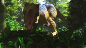 Trex in the woods