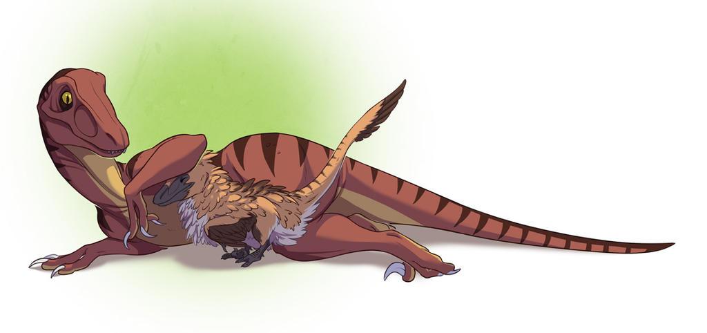 Raptor Friendship by SylxeriaGuardian on DeviantArt