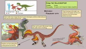 [Ref] Claw the Velociraptor