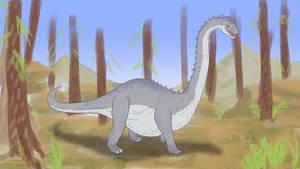 Brachiosaurus! by SylxeriaGuardian