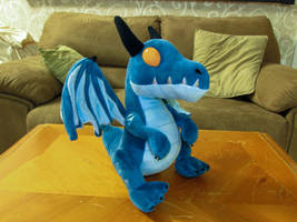 Blue Whelpy Plushie! by SylxeriaGuardian