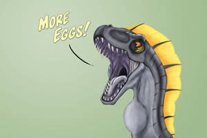 I demand eggs! by SylxeriaGuardian