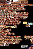 Custom Skin Super Shadow Sprite Sheet 1 by JaseTheHedgehog16