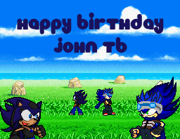 Happy Birthday John by JaseTheHedgehog16