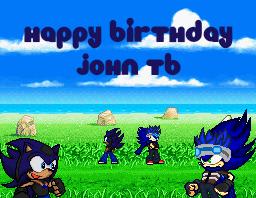 Happy Birthday John by JaseTheHedgehog16