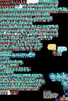 Super God Super Shadow Sprite Sheet (Rings) by JaseTheHedgehog16