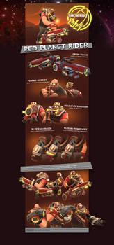 Red Planet Rider Set