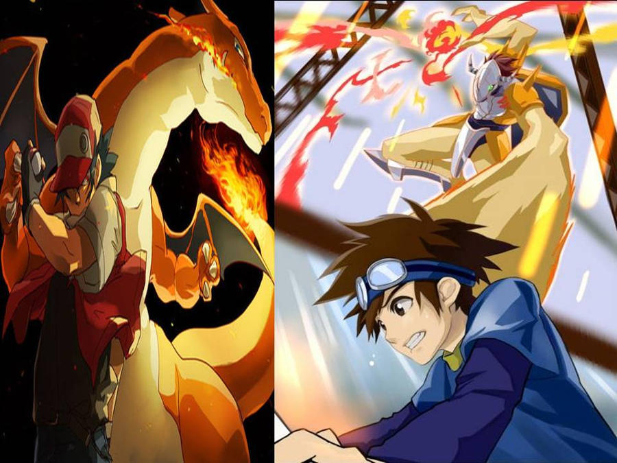 The gallery for --> Wargreymon Vs Charizard