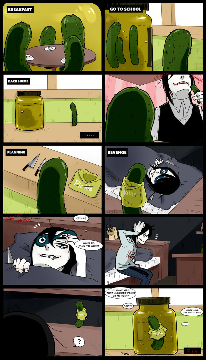 Creepypasta Cafe : Pickle the kiler by Alloween on DeviantArt