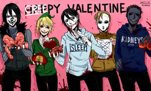 Creepy Valentine by Alloween