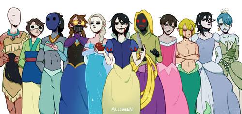 Pasta Princesses