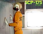 SCP-173 | Sculpture| SCP Humanized | SPEEDPAINT
