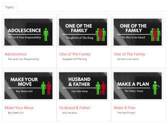 Manhood Study Cards Proof by Ar-Pharazon