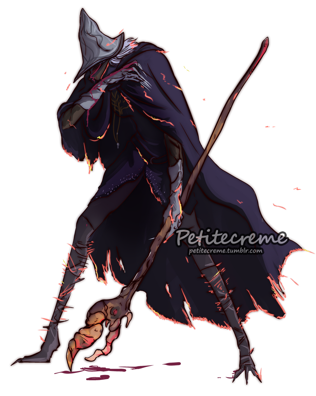 Dark Souls Character Design Process : Dark souls unkindled magic by petitecreme on deviantart
