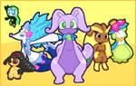 Triny Pokemon's Pokemon Team