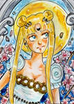 ACEO 132 Princess of the Moon