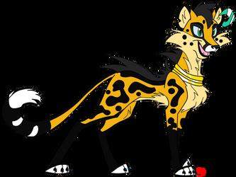My Cheetah Fursona by Coca-Mocha