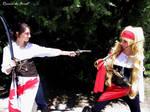 Are you ready? - Fem!Spain and Fem!England cosplay
