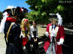 Witnesses - Spain and England + Nyo pirate cosplay