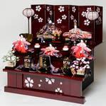 cherry blossom geisha dolls