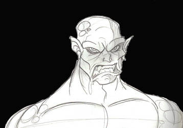 Monster Sketch... by GregEales