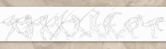 Javelin Throw  by GregEales