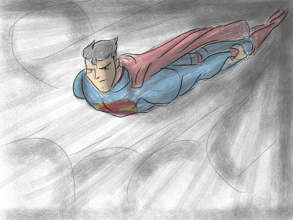 Superman Sketch by GregEales