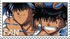 Yuusuke x Hiei Stamp by yoshimiU23