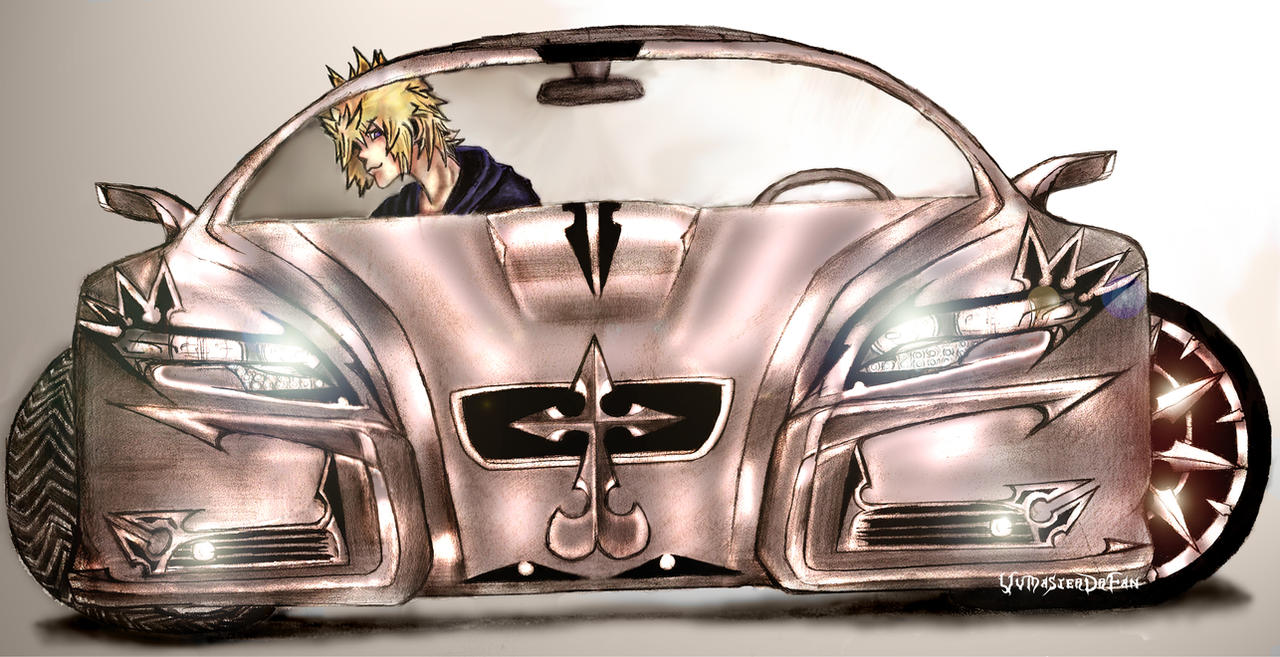 Organization XIII Car I by vvmasterdrfan