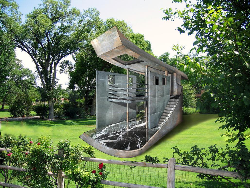 3D Photoshop Render Structure by vvmasterdrfan