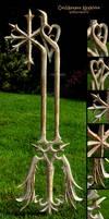 Oathkeeper Keyblade Wood