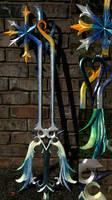 The Oathkeeper Keyblade