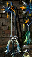 The Oathkeeper Keyblade by vvmasterdrfan