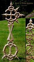 Bond of Flame Keyblade Wood