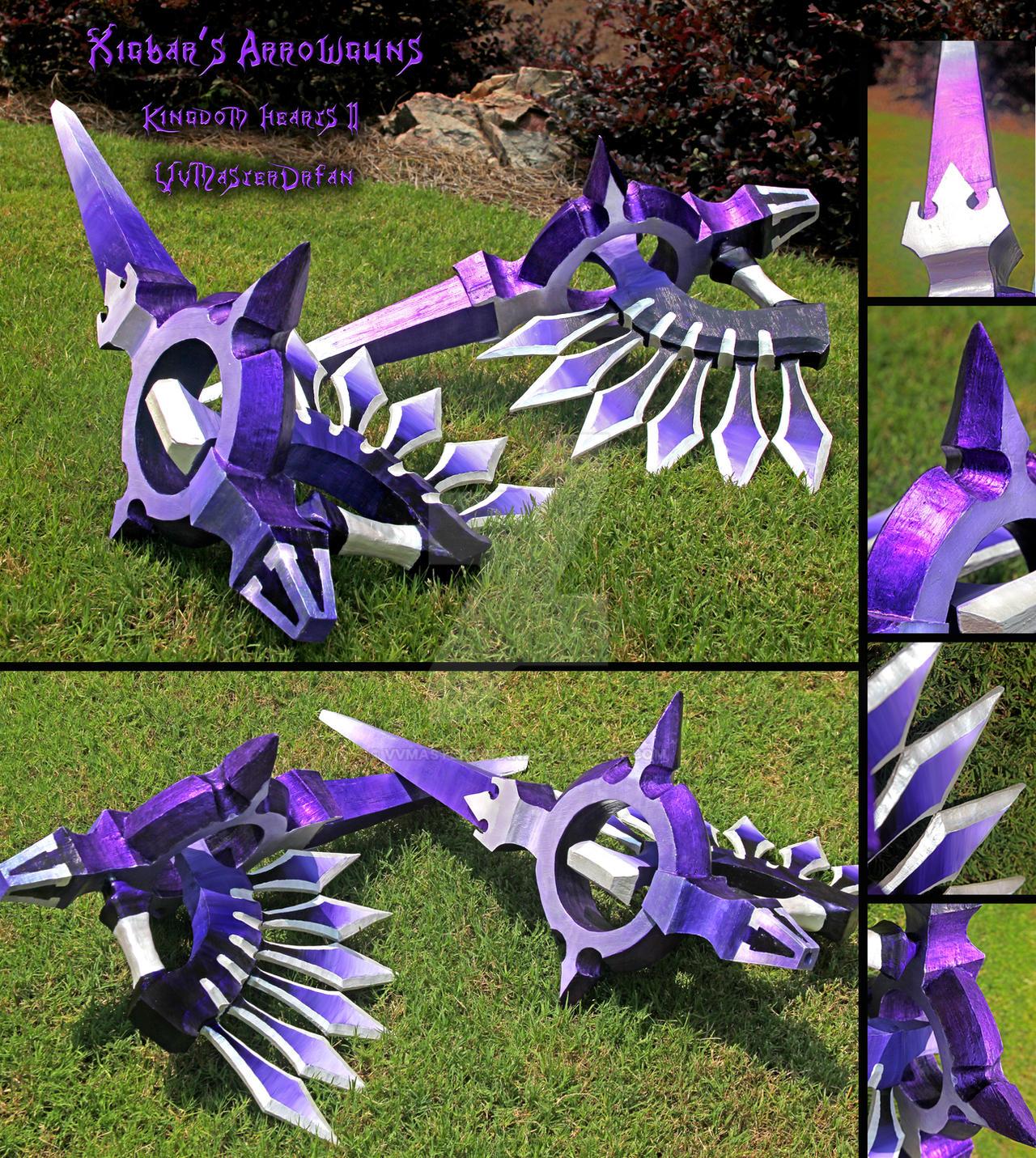 Xigbar's Arrowguns by vvmasterdrfan