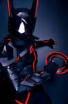 Terra + Tron Cosplay 1