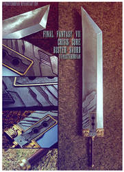 FFVII Crisis Core Buster Sword