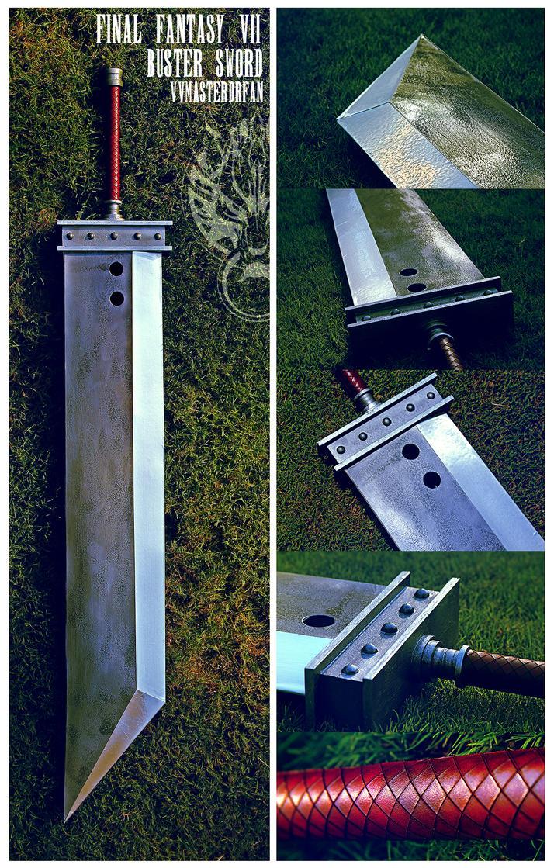 Final Fantasy VII Buster Sword by vvmasterdrfan