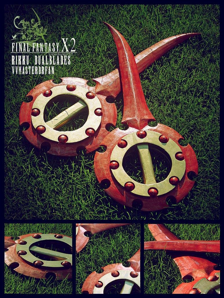 FFX-2 Rikku Dualblades by vvmasterdrfan