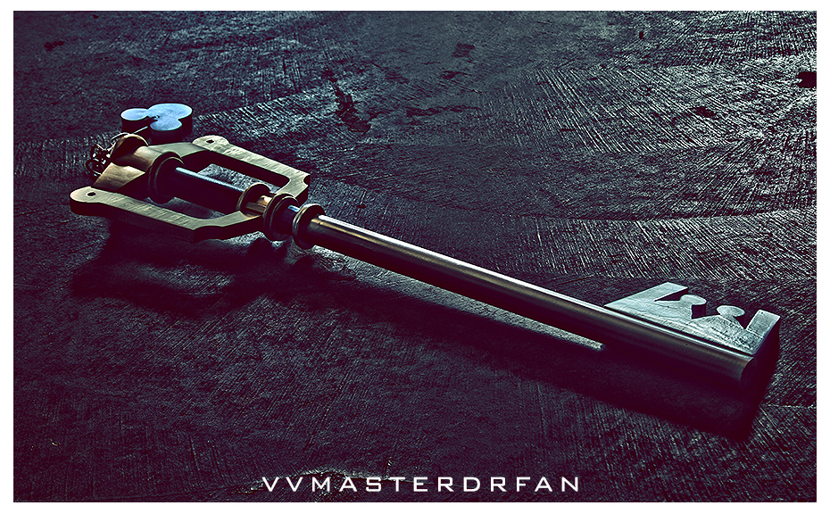 Kingdom Key HDR by vvmasterdrfan